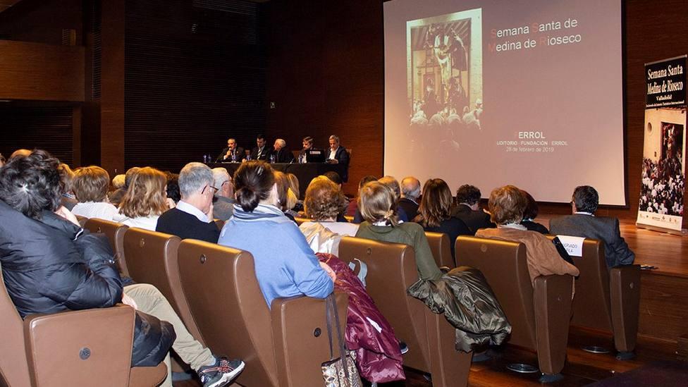 Foto de la presentación en Ferrol de la Semana Santa de Medina de Rioseco en Ferrol - FOTO: Roberto Marín