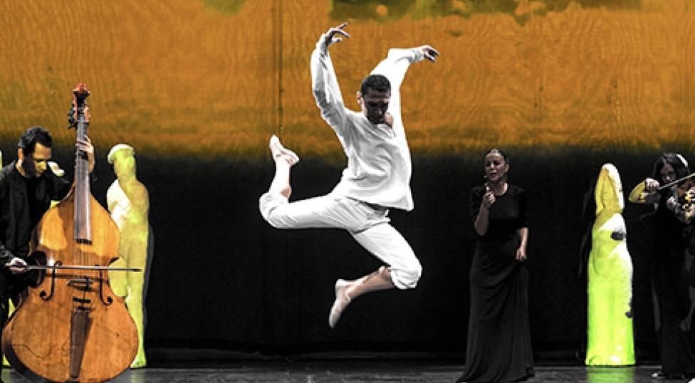 Free Bach 212 de La Fura dels Baus llega el 21de febrero con el bailarín murciano Miguel Ángel Serrano