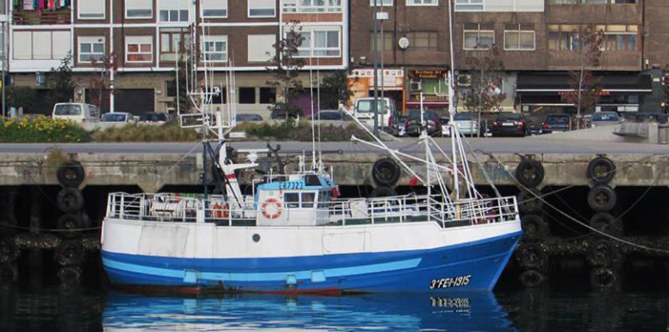 Foto de archivo del buque hundido al norte de Estaca de Bares - FOTO: Manel Audaz