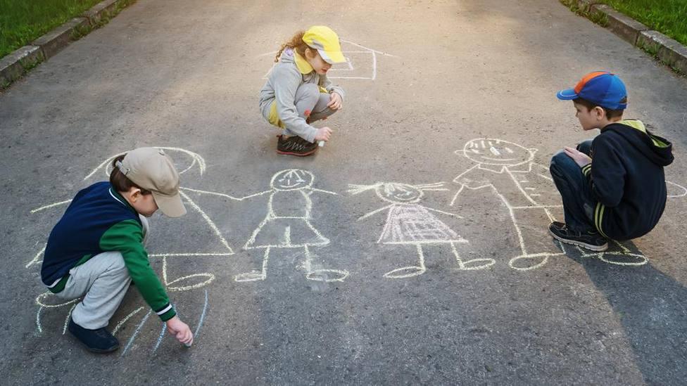 Gijón busca alegrar a sus niños y niñas durante el confinamiento