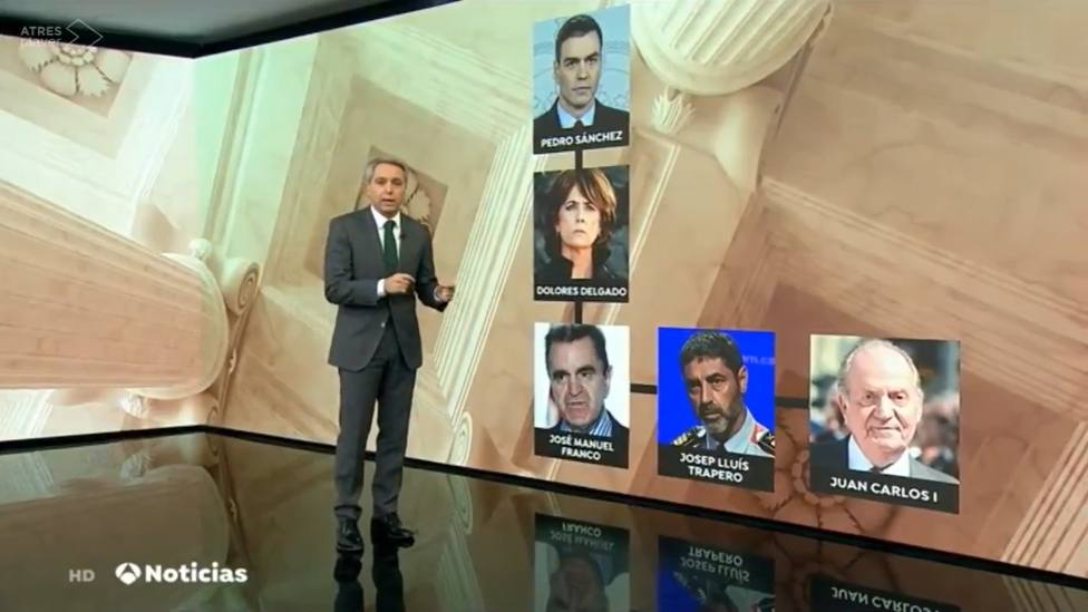 Las redes avisan a Vicente Vallés tras su última explicación crítica con Sánchez: Te quedan dos telediarios