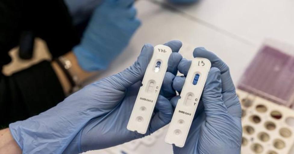 Comprobación de prueba de coronavirus