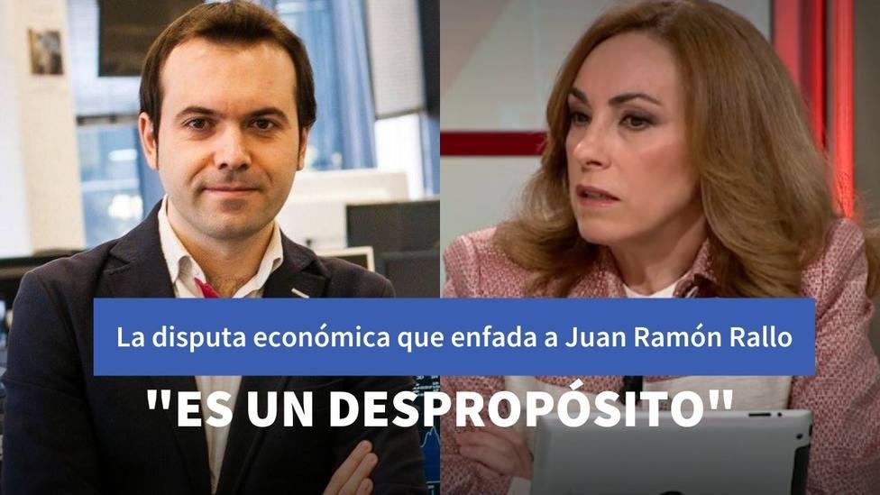 La disputa económica que enfada a Juan Ramón Rallo pero que provoca silencio entre los tertulianos