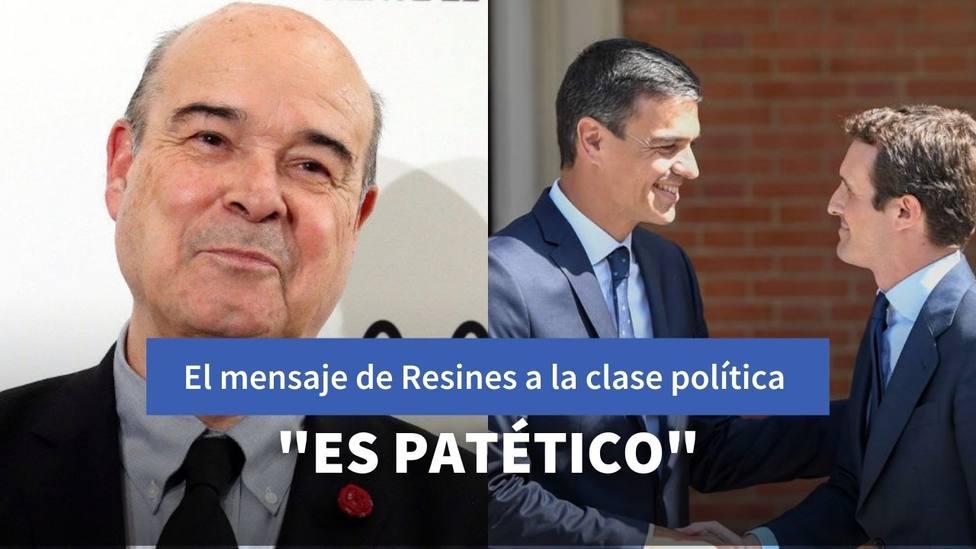 Antonio Resines y Pedro Sánchez