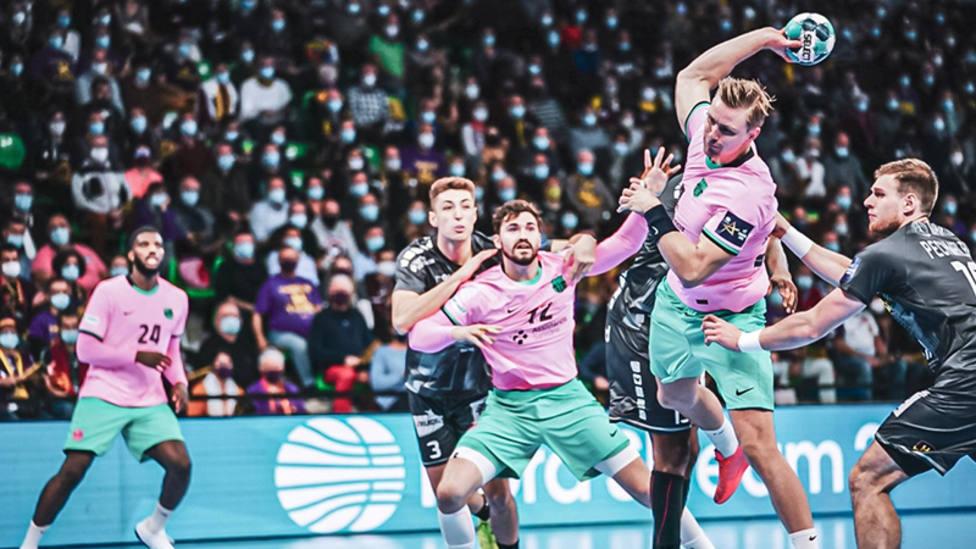 Palmarsson y Mem desmantelan la defensa del Nantes y dan al Barça su tercera victoria