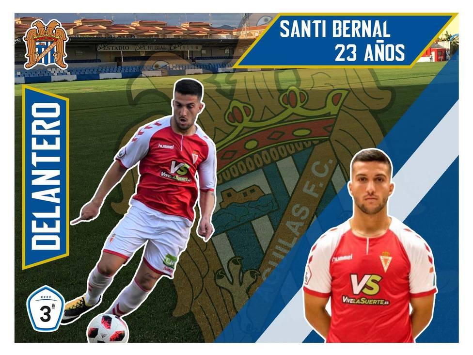 Santi Bernal refuerza el ataque del Águilas FC