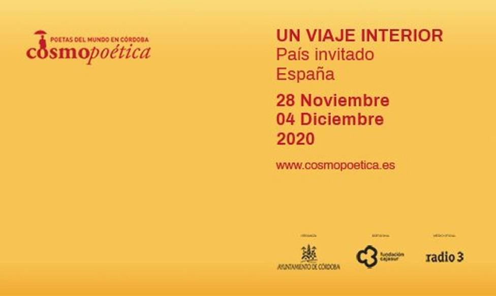 El viaje interior de Cosmopoética arranca este sábado para volver a llenar Córdoba de versos