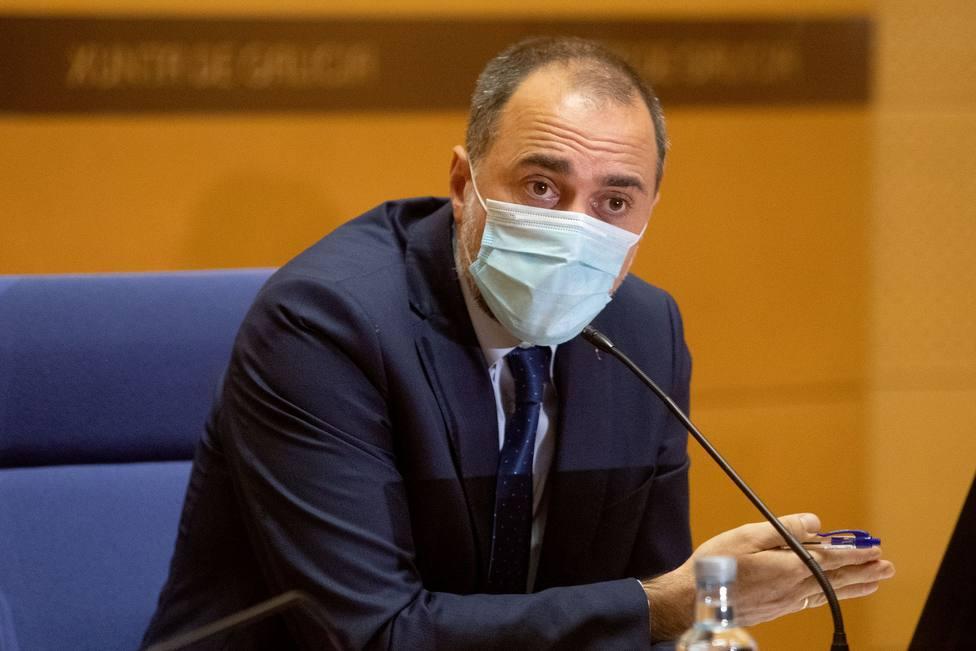 Julio García Comesaña, consellerio de Sanidad - FOTO: Xunta / Conchi Paz