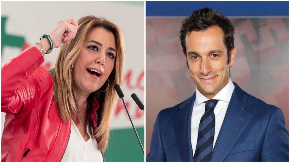 Alvaro Zancajo desvela la amenaza que le lanzó Susana Díaz y que se ha cumplido: Prepárate