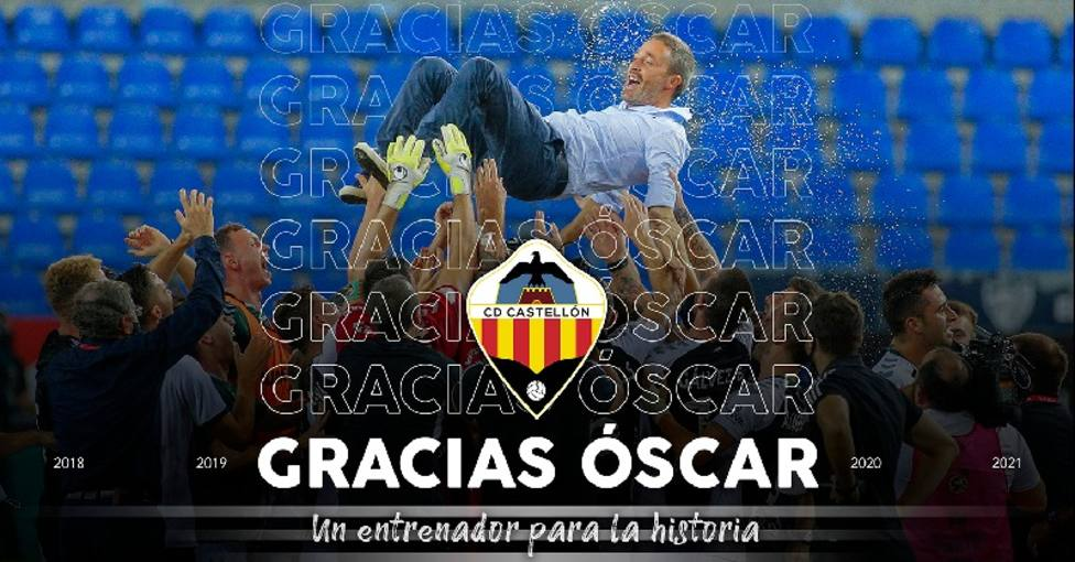 Óscar Cano deja de ser entrenador del Castellón
