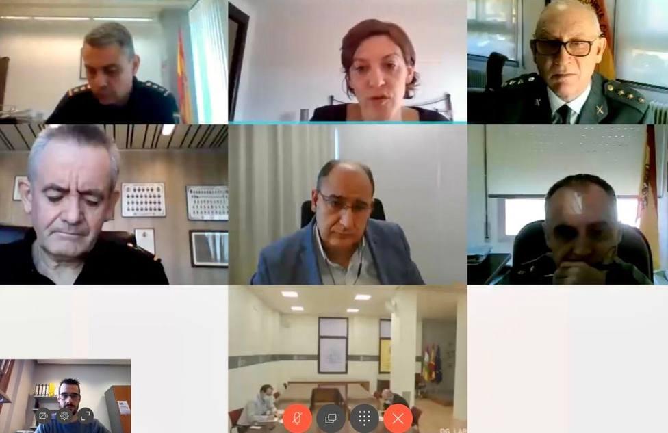 reunión del CECOR