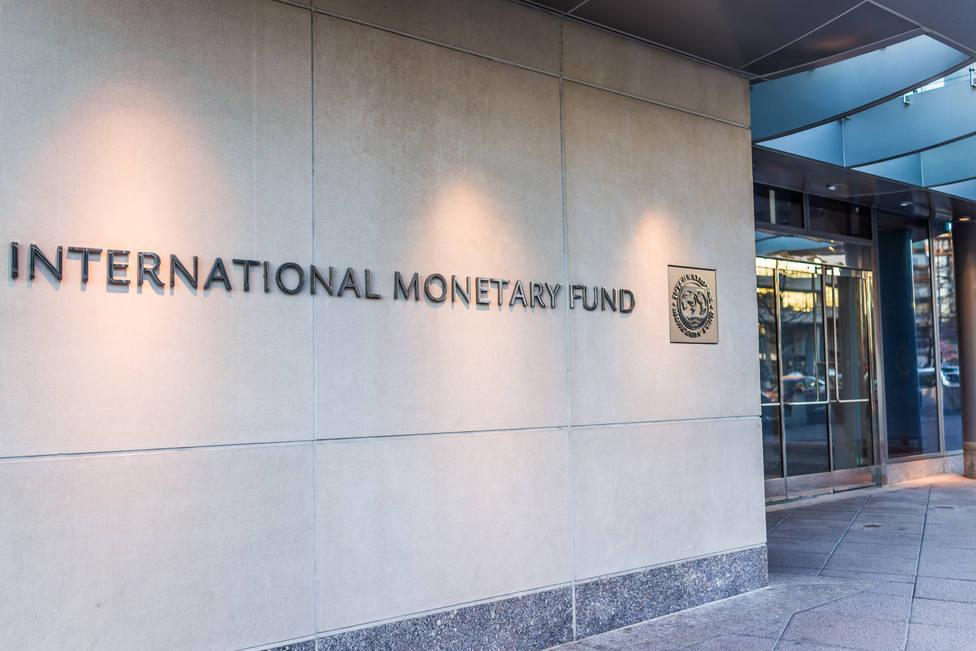 Washington,Dc,,Usa,-,March,4,,2017:,Imf,Entrance,With