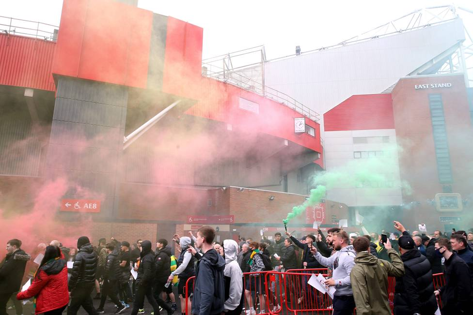 Aficionados Old Trafford