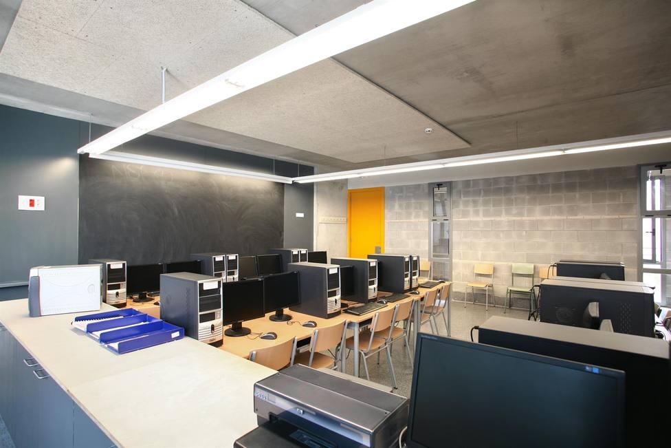 Una aula de un instituto - GENCAT - Archivo