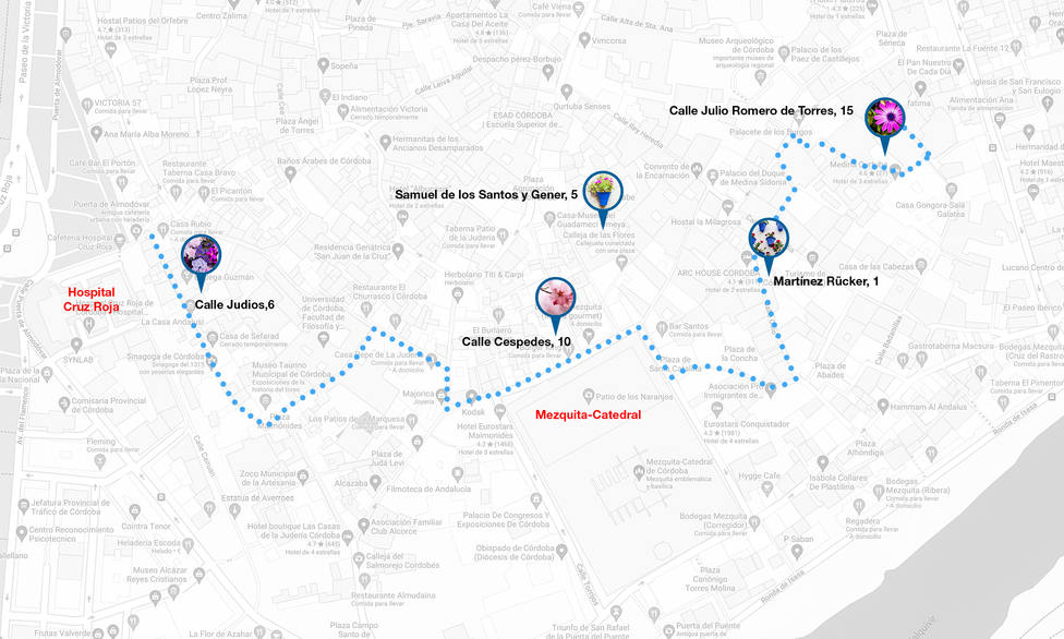 Patios de Córdoba: Judería