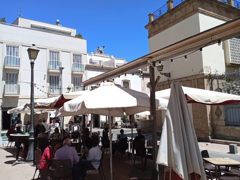 Almería permite pantallas en las terrazas para el seguimiento de la Eurocopa de fútbol y los Juegos Olímpicos