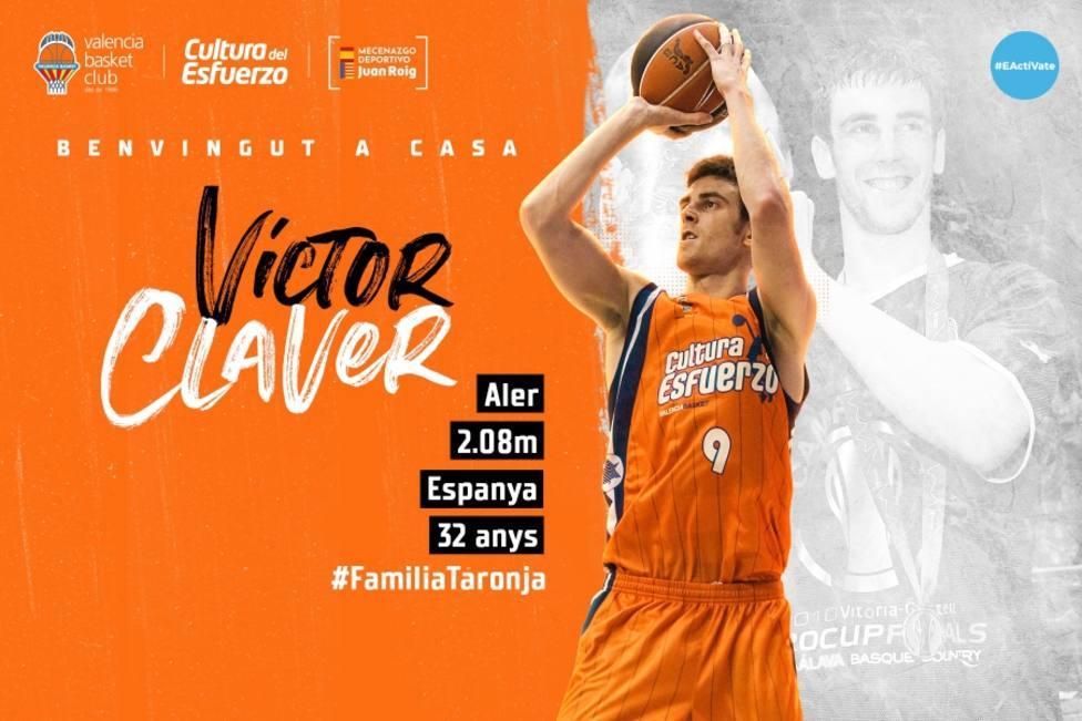 Víctor Claver vuelve a casa