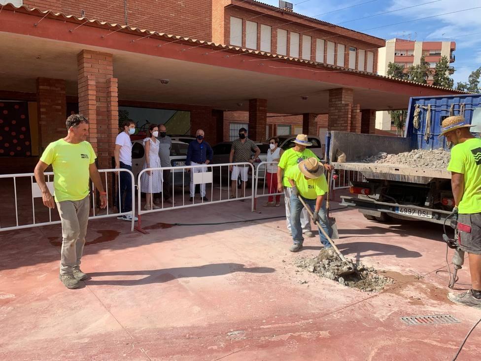 El Ayuntamiento de Águilas destina 90.000 euros en arreglos para colegios