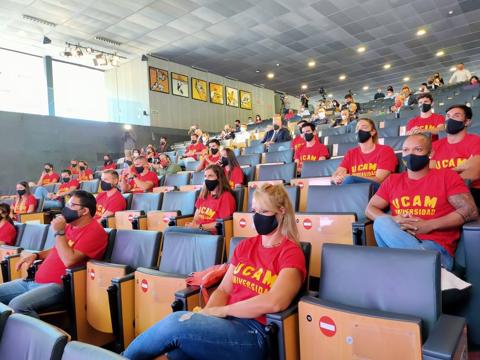 Los deportistas olímpicos de la UCAM agradecen el apoyo tras un ciclo olímpico de locos