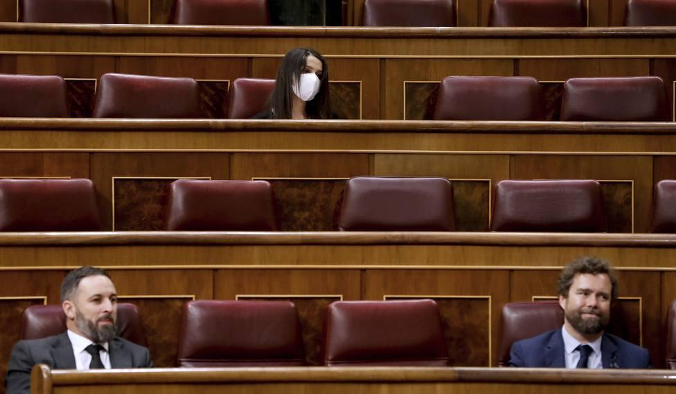Vox y Cs critican el acuerdo PP-PSOE para renovar varios órganos constitucionales