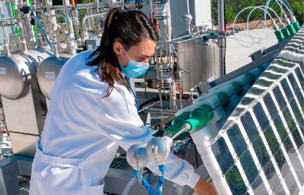 Producción de hidrógeno renovable