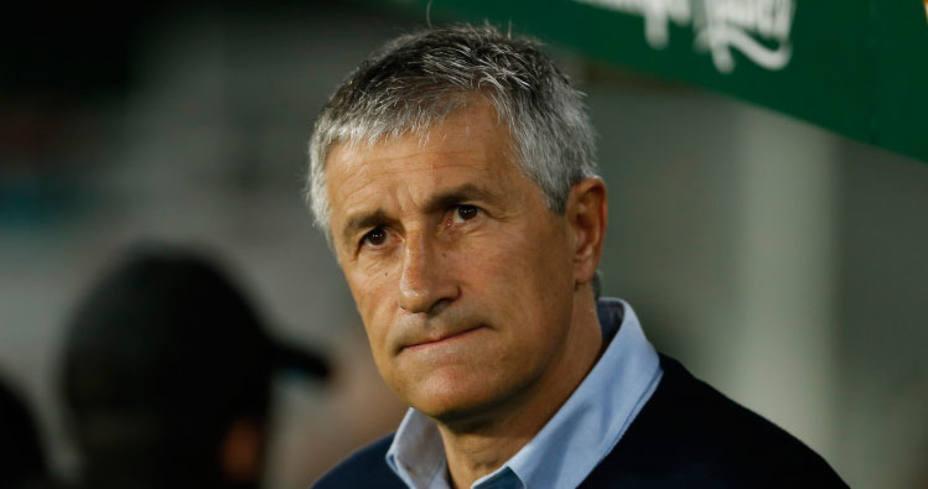 Quique Setién, entrenador del Real Betis (FOTO: LaLiga)