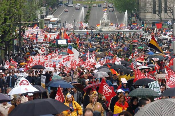 Imagen de archivo del Primero de Mayo
