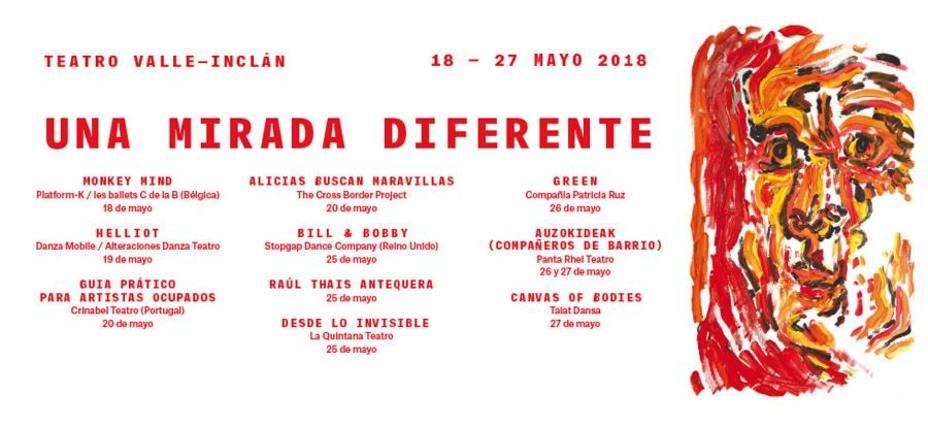 Cartel del Festival inclusivo Una mirada diferente