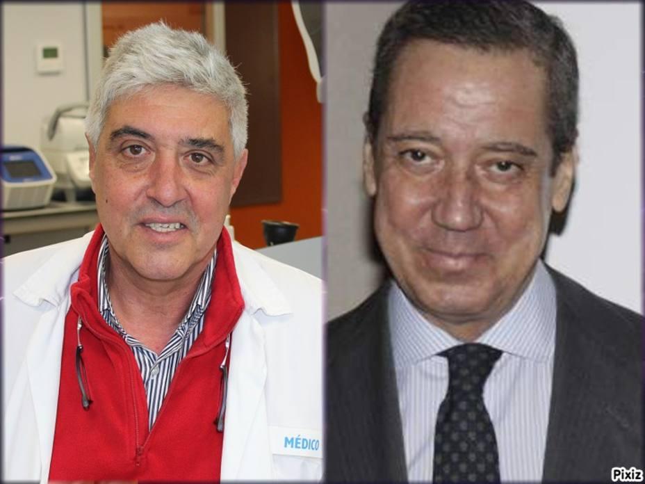 Guillermo Sanz y Eduardo Zaplana