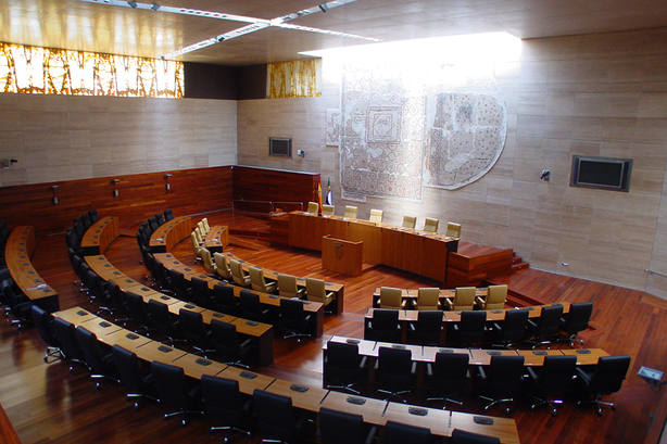 Asamblea de Extremadura. Foto: Archivo