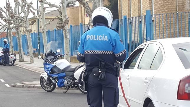 Policía local de León.