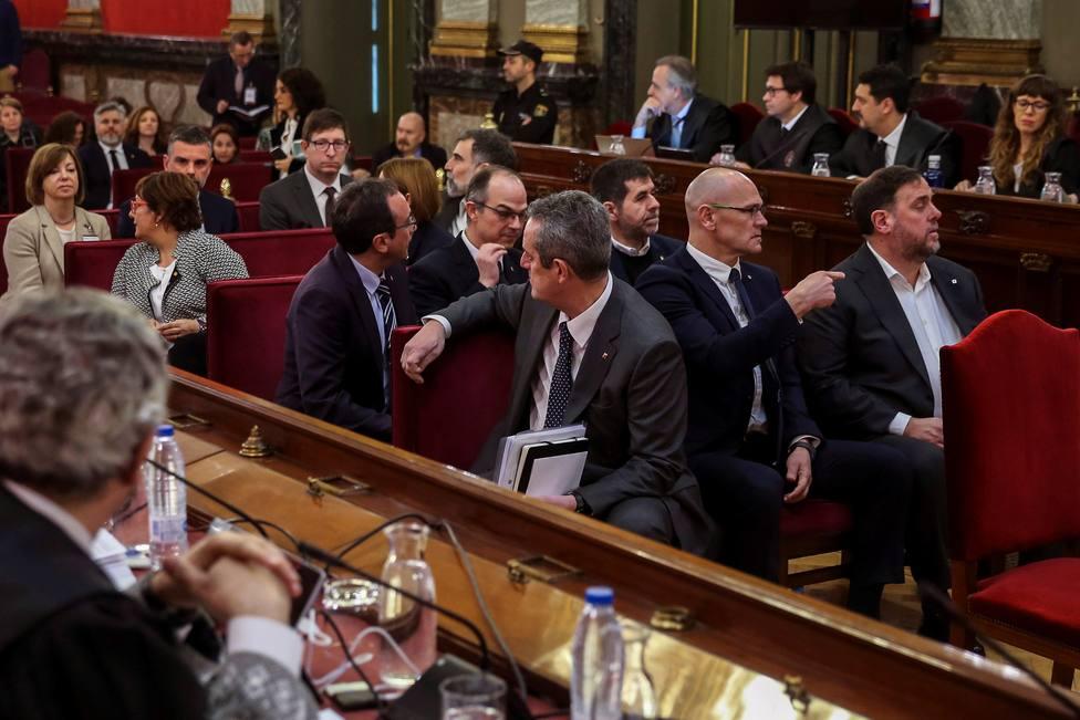 El independentismo, con Torra y Mas a la cabeza, protesta mañana en Madrid contra el juicio del Supremo al procés