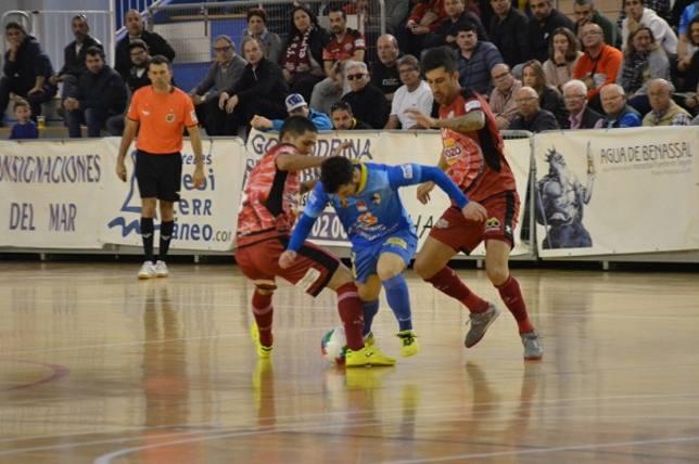 ElPozo Murcia FS golea a Peñíscola y se mantiene líder (1-6)