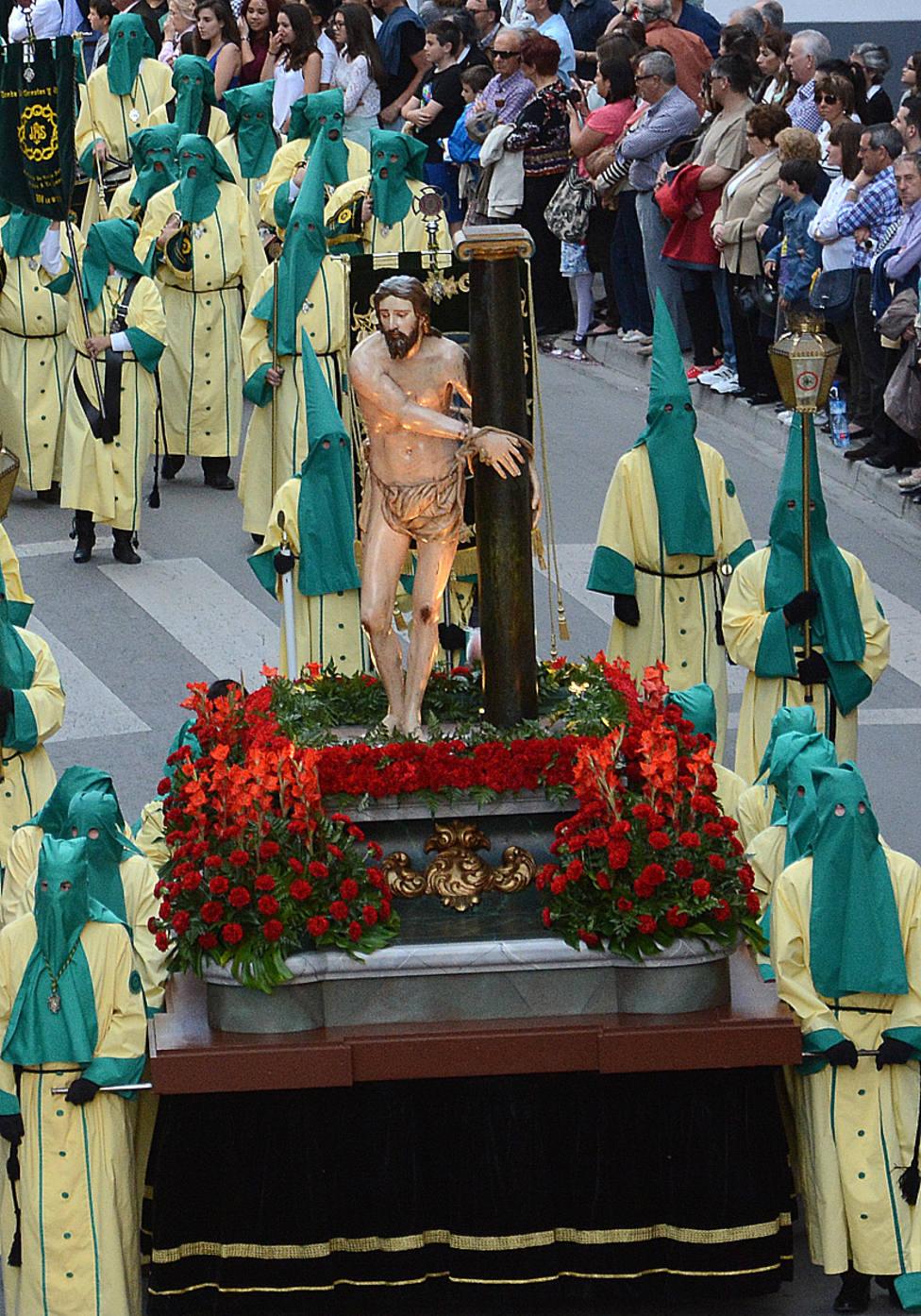 Paso de Jesús Atado a la Columna