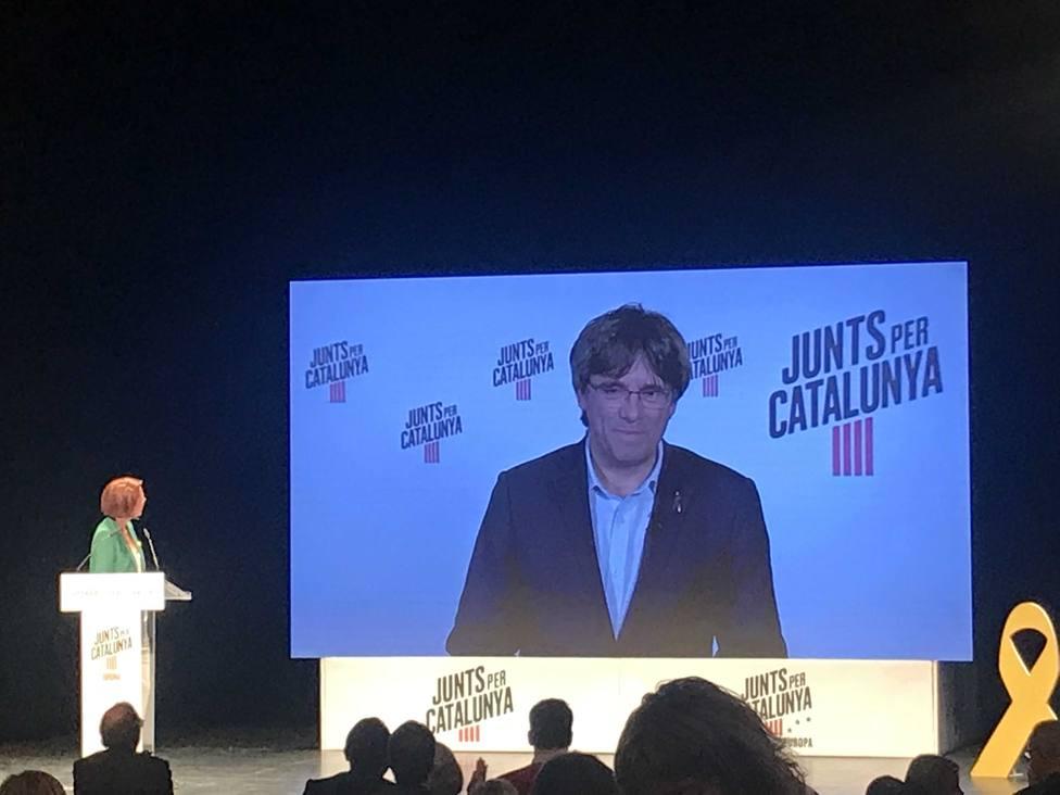 Puigdemont: En el Parlamento Europeo no podrá suspendernos ningún juez prevaricador