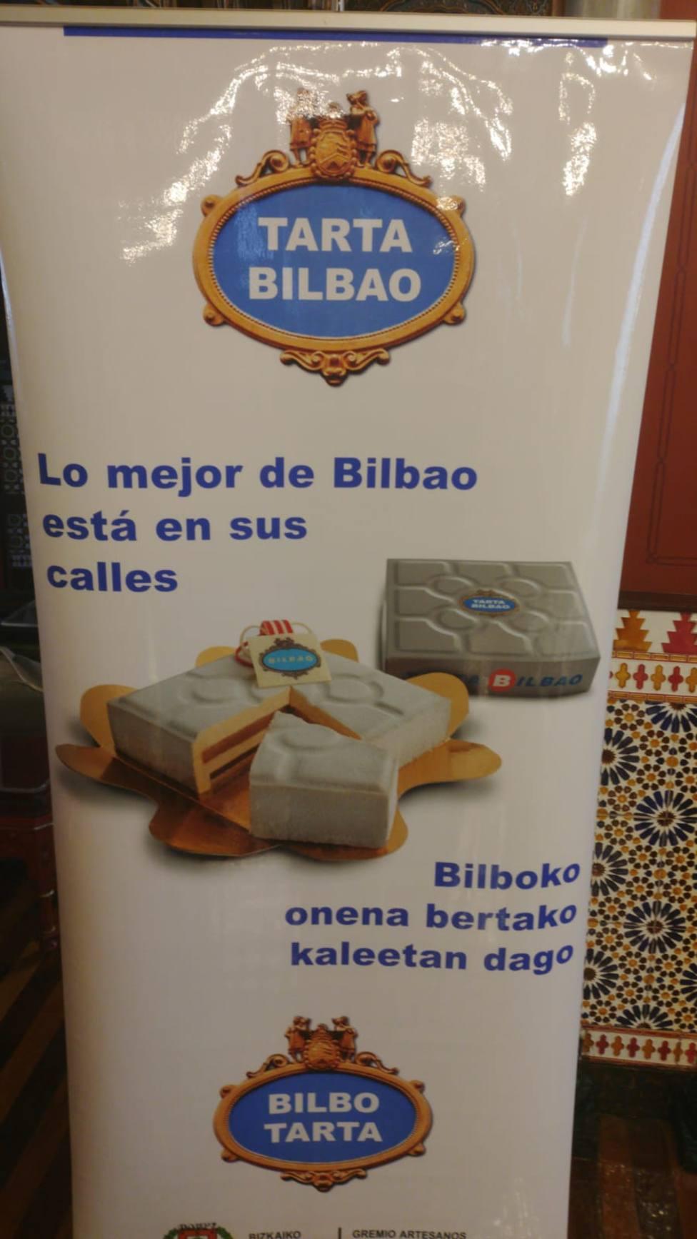 Bilbao cuenta con su propia tarta