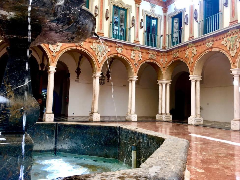Patio del Palacio de la Merced