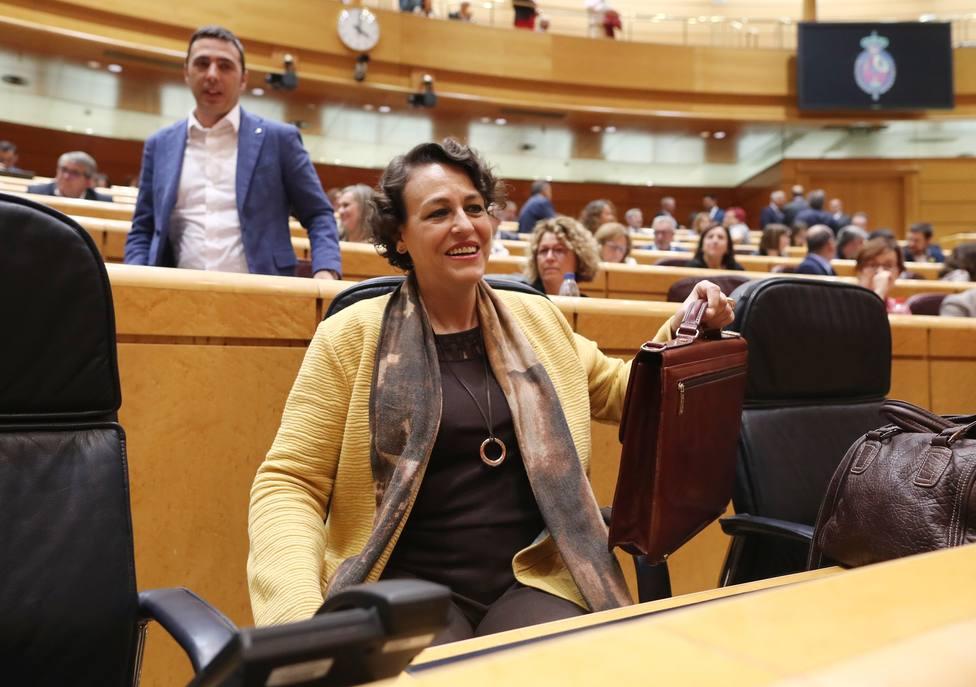 Valerio asegura que por parte del PSOE no quedará que las pensiones se revaloricen con el IPC en 2020