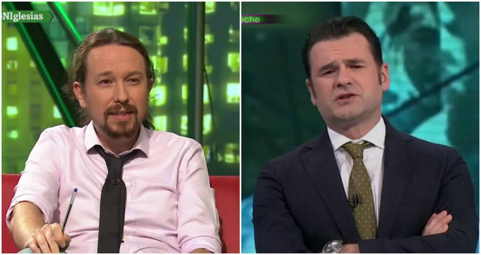 La bronca de Pablo Iglesias a Iñaki López a cuenta de Franco