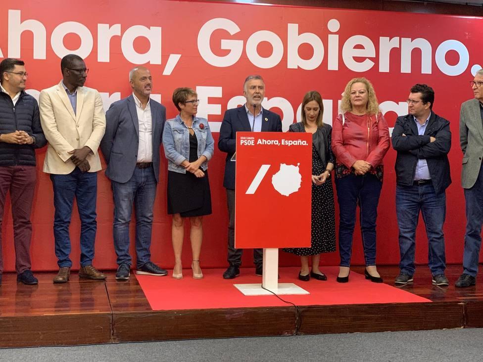 Ángel Víctor Torres comparece tras los resultados electorales