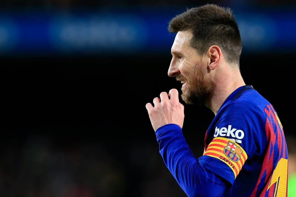Leo Messi pone su diana en el Wanda Metropolitano