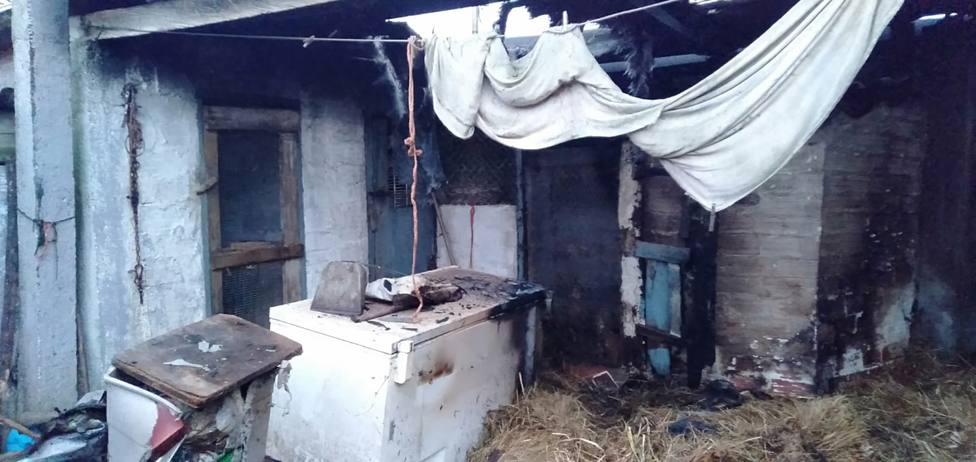 Las instalaciones sufrieron diversos daños - FOTO: GES Mugardos
