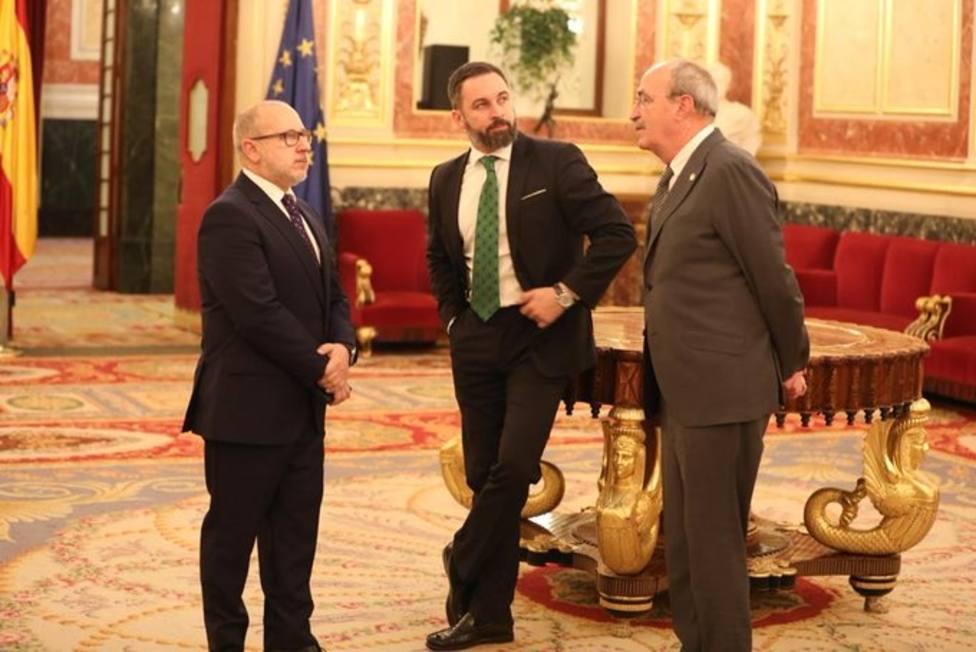 Vox censura al PSOE por permitir que alguien que humilla a las víctimas del terrorismo hable en el Congreso