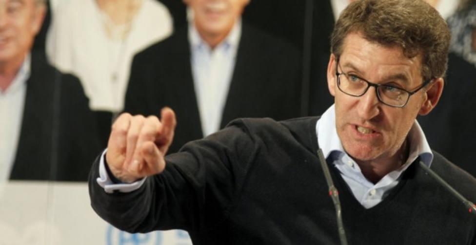 Feijóo advierte a Ciudadanos que no utilice las elecciones gallegas para hacer su congreso interno
