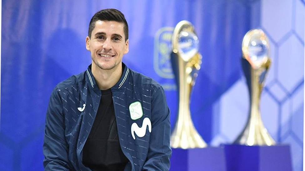 Carlos Ortiz, capitán de Movistar Inter