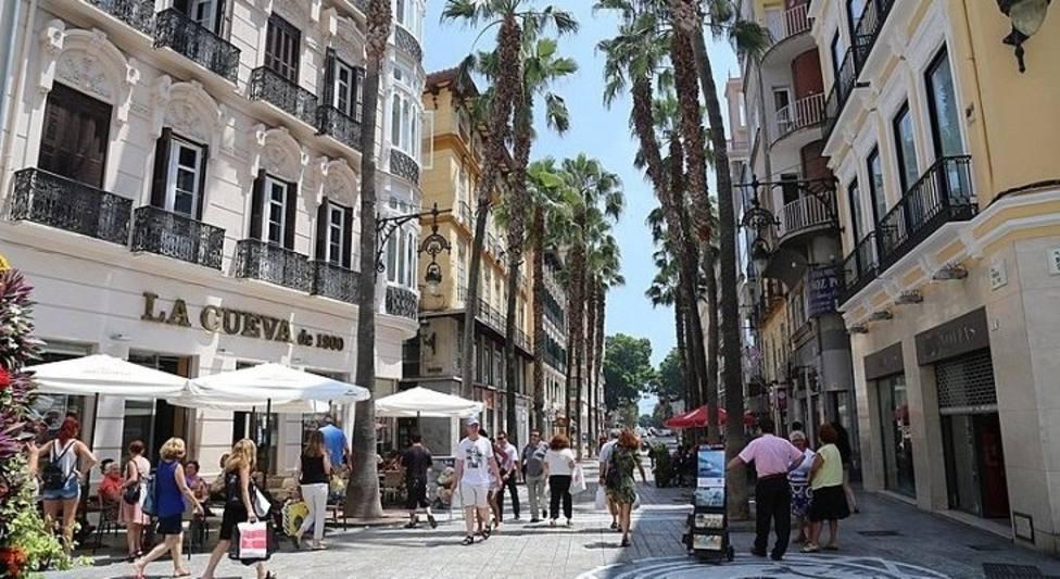 Una imagen de la zona centro de Málaga.