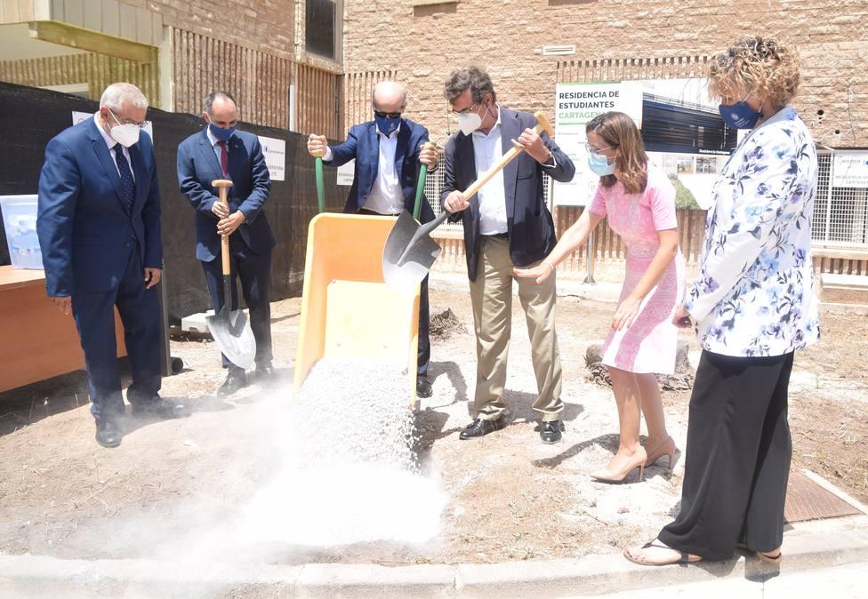 Comienzan las obras de la nueva residencia de estudiantes de la UPCT
