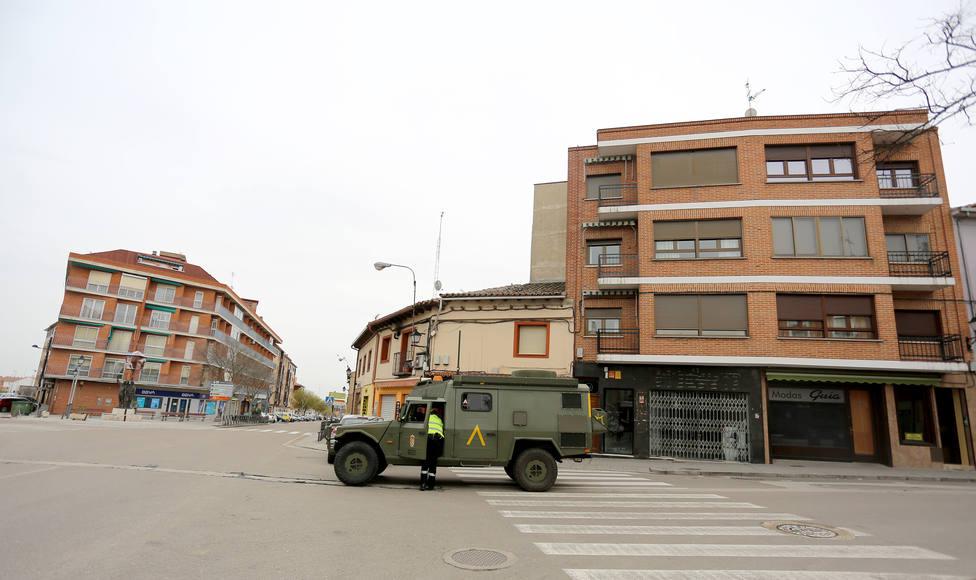 Operativo de la UME en Tordesillas