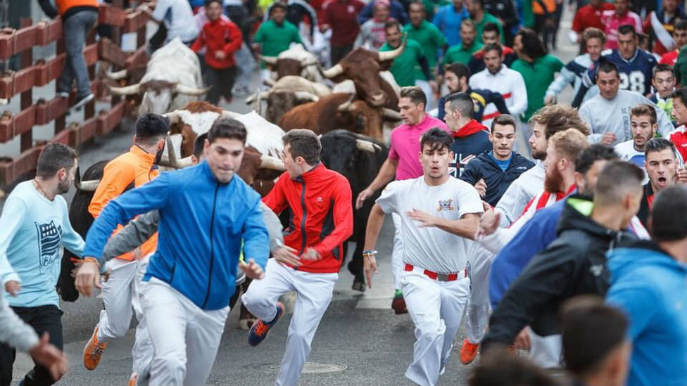 Encierro por las calles de Guadalajara