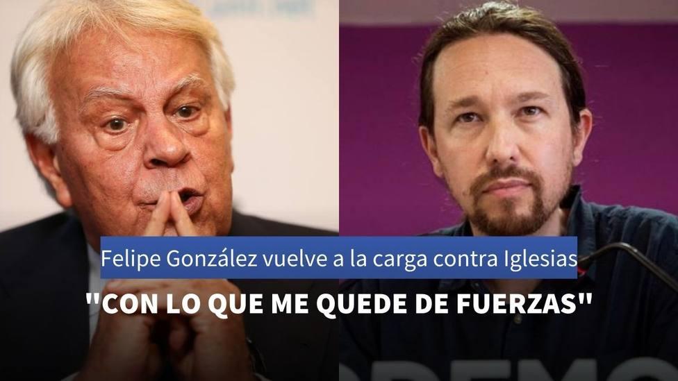 Felipe Gonzalez y Pedro Sánchez
